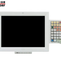 "POS MONITOR 15"" TOUCH WINCOR BA83A WH MSR/KB NO BASE/CBL GB"