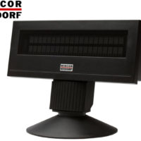 POS CUSTOMER DISPLAY WINCOR BA63 RS232 12V BL SHORT