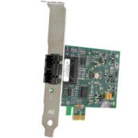 NIC 100MB ALLIED TELESIS OPTICAL SC DUAL PORT PCI-E LP