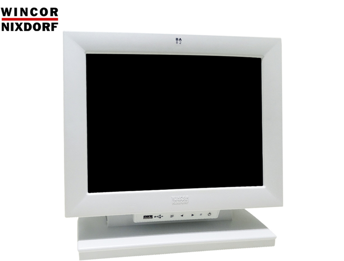 """POS MONITOR 12"""" TOUCH WINCOR BA82 WH FULL CABLE GA"""