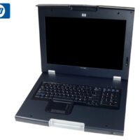 "RACK MONITOR 17"" TFT HP TFT7600RKM USB/PS2 KB/MOUSE  GA"